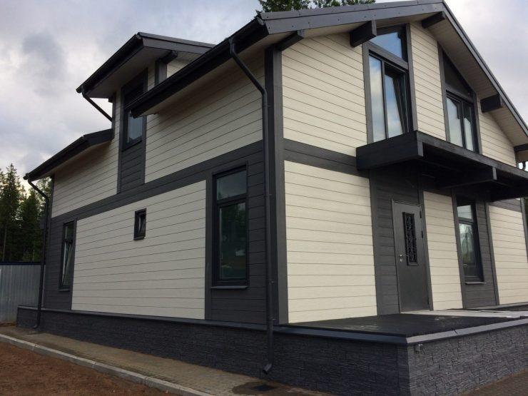 алюминиевый сайдинг для фасада