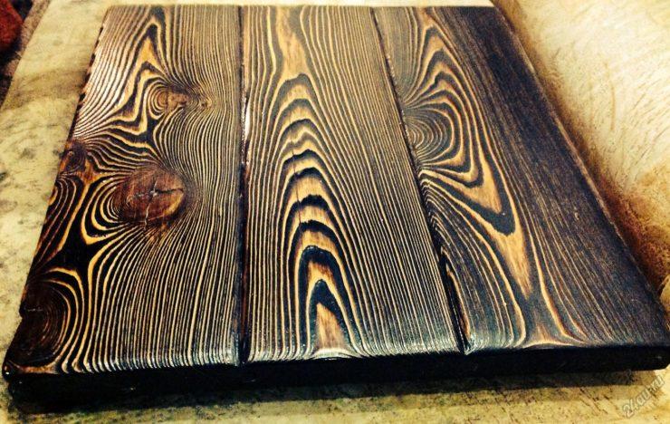 обжигание древесины