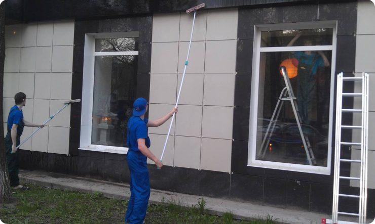 чем мыть фасад